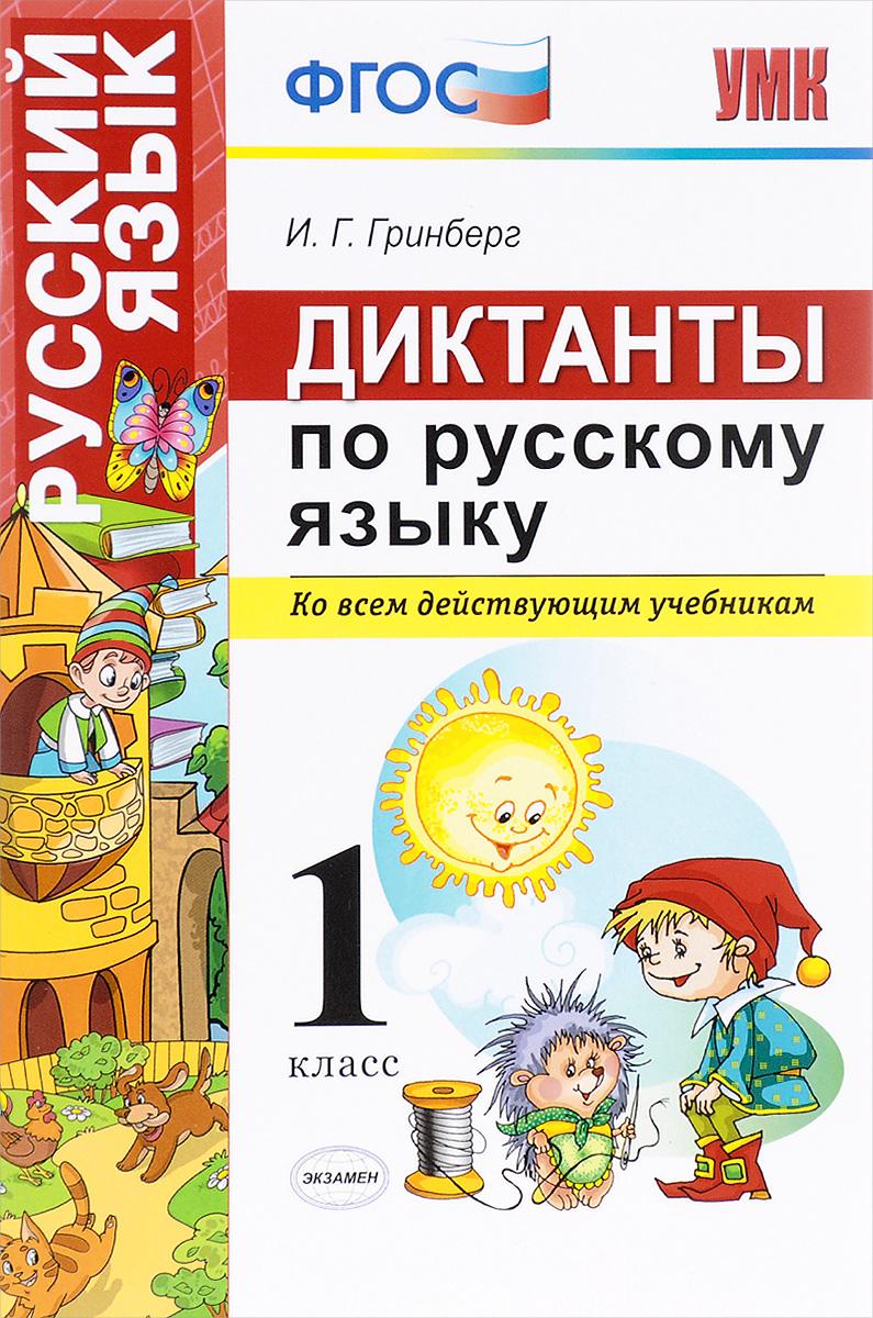 Русский язык. 1 класс. Диктанты