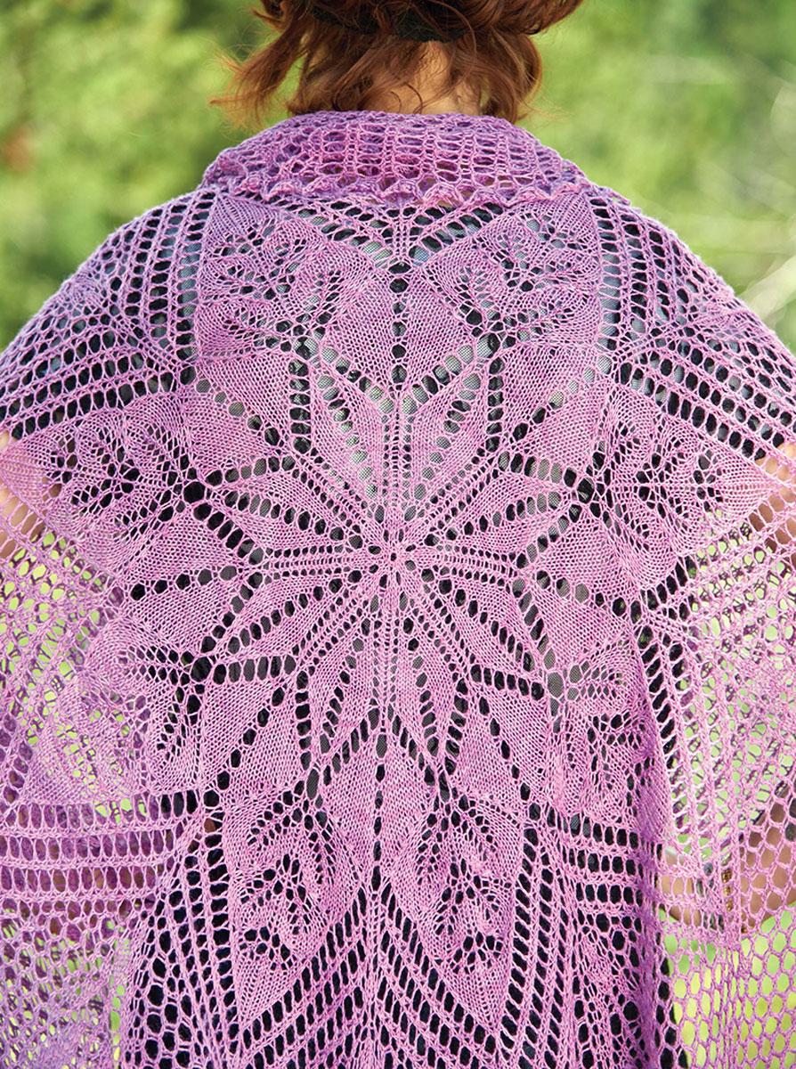 Новые винтажные шали. Вяжем спицами