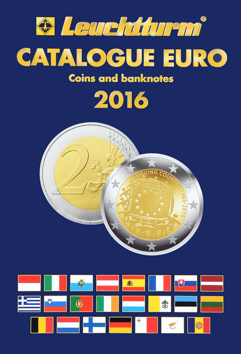 Каталог банкнот и монет евро 1999-2016 г
