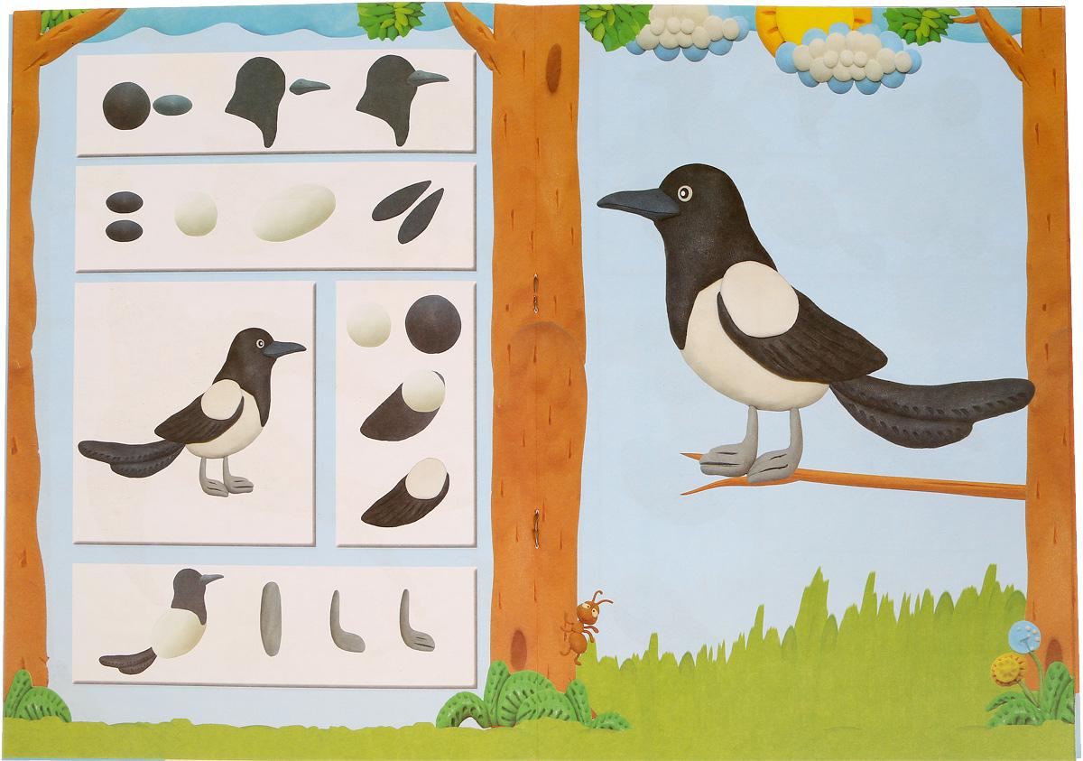 Лепим птиц леса