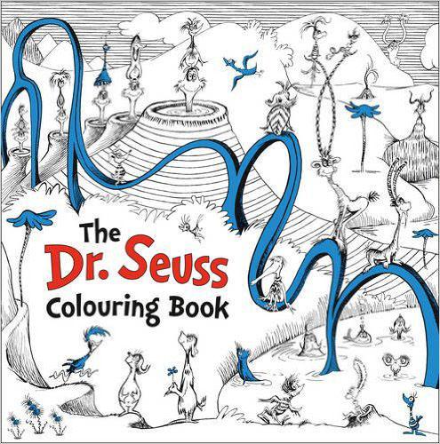 Dr. Seuss Colouring Book