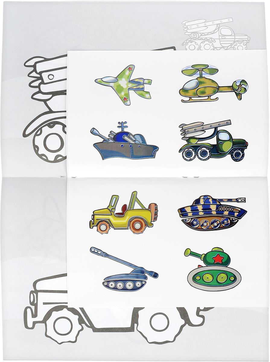 Транспорт. Самолетики. Кораблики. Машинки. Танчики (+ наклейки)