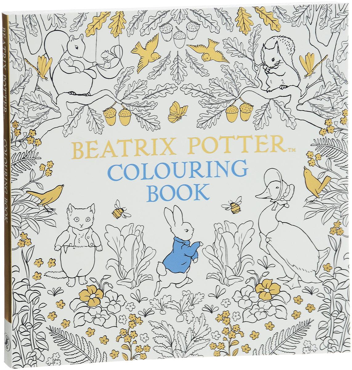 The Beatrix Potter Colouring Boo