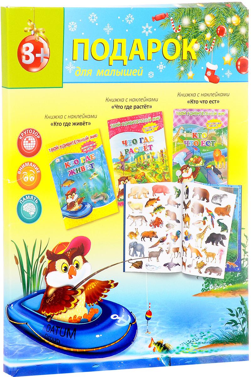 Подарок для малышей. Твой удивительный мир (комплект из 3 книг)