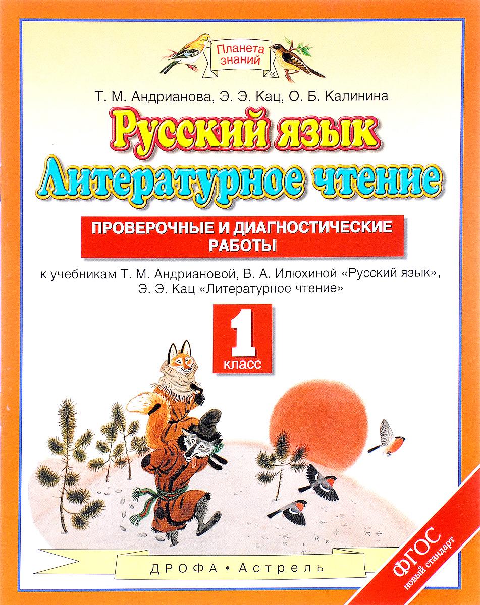 Русский язык. 1 класс. Литературное чтение. 1 класс. Проверочные и диагностические работы.