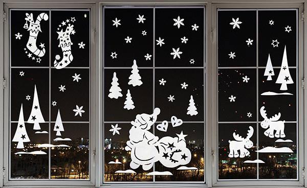 Дед Мороз с подарками. Набор для творчества