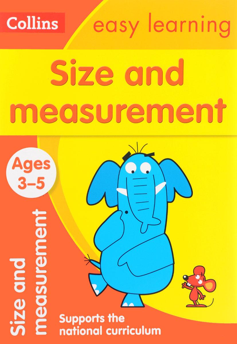 Обложка книги Size and Measurement: Ages 3-5