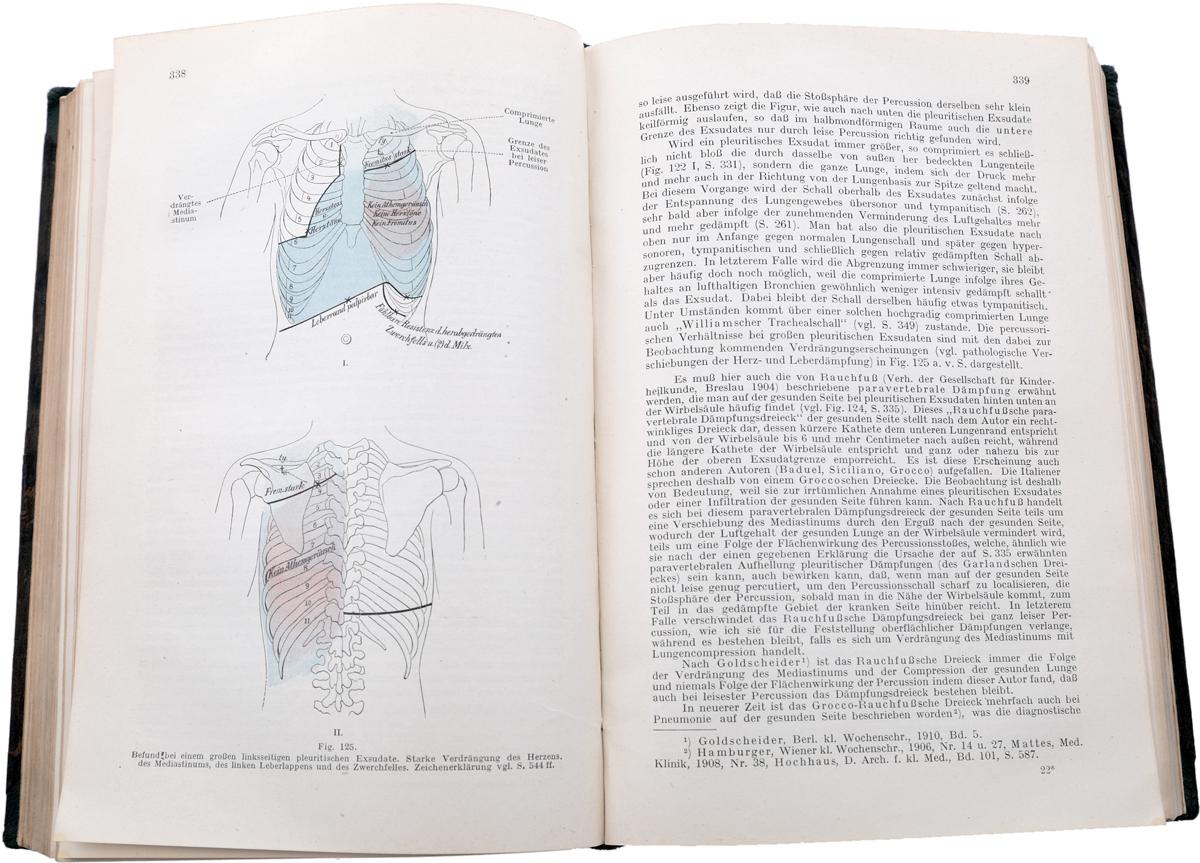 Lehrbuch der klinischen Untersuchungs-Methoden fuer studierende und praktische Aerzte. Band I