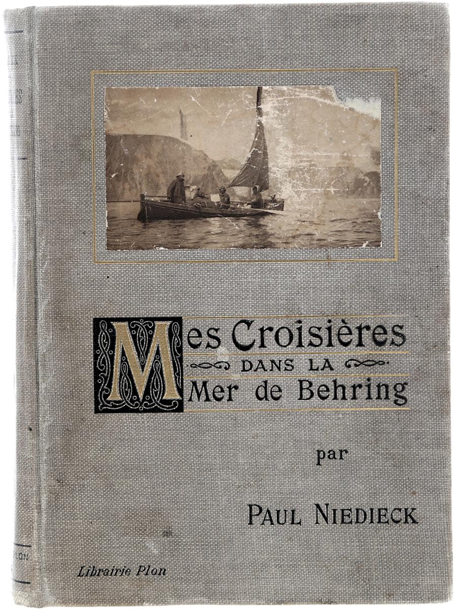 Mes Croisieres dans La Mer de BehringDEN4533Париж, 1908 год. Издательство Plon-Nourrit et C-ie. Богато иллюстрированное издание с 132 фотографиями в тексте. Типографский переплет. Сохранность хорошая. Вниманию читателей предлагается книга немецкого путешественника Пауля Нидика (Paul Niedieck), в которой он описывает свой круиз по Берингову морю, который он совершил в 1906 году. За время своего путешествия Нидик побывал на Камчатке и на Аляске. В книге автор описывает свои встречи с аборигенами, природные условия и ресурсы регионов, приводит свои этнологические наблюдения. Книга богато иллюстрирована фотографиями, сделанными во время путешествия. Не подлежит вывозу за пределы Российской Федерации.