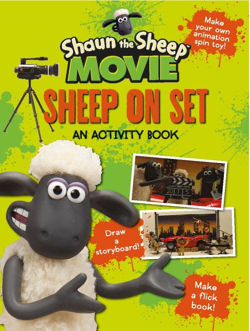 Aardman Animations Ltd Shaun the Sheep Movie - Sheep on Set Activity Book