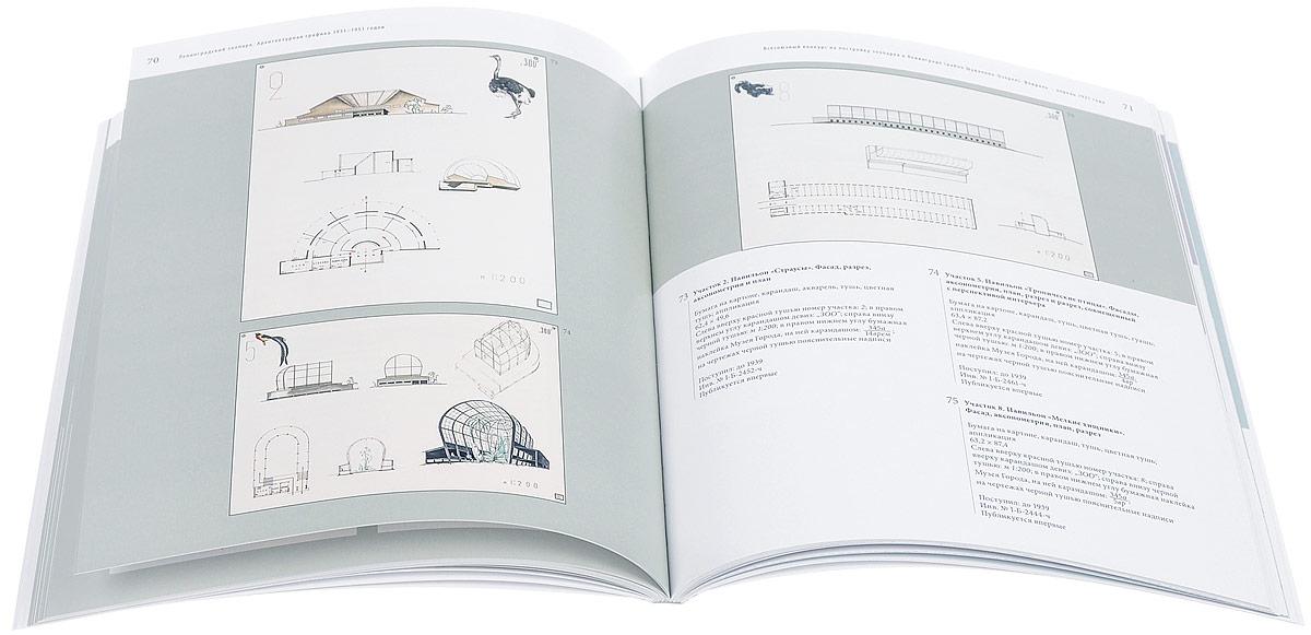 Ленинградский зоопарк. Архитектурная графика 1931-1951 годов из собрания Государственного музея истории