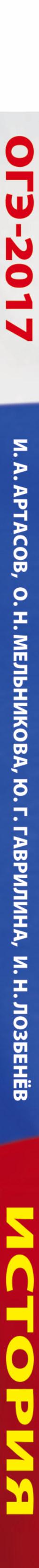 ОГЭ-2017. История (60х84/8) 10 тренировочных вариантов экзаменационных работ для подготовки к основному государственному экзамену