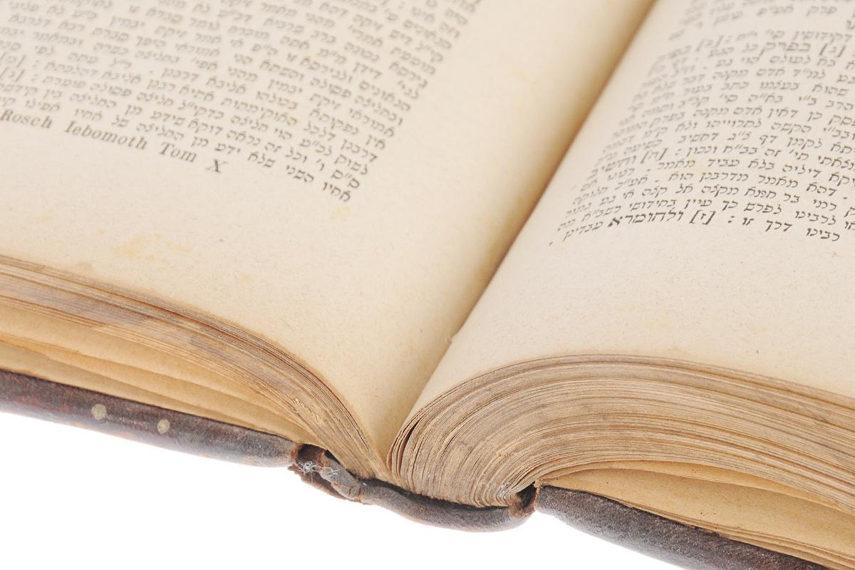 Масехет Евамот (Йевамот). Вавилонский талмуд. Трактат о левиратном браке. Том X