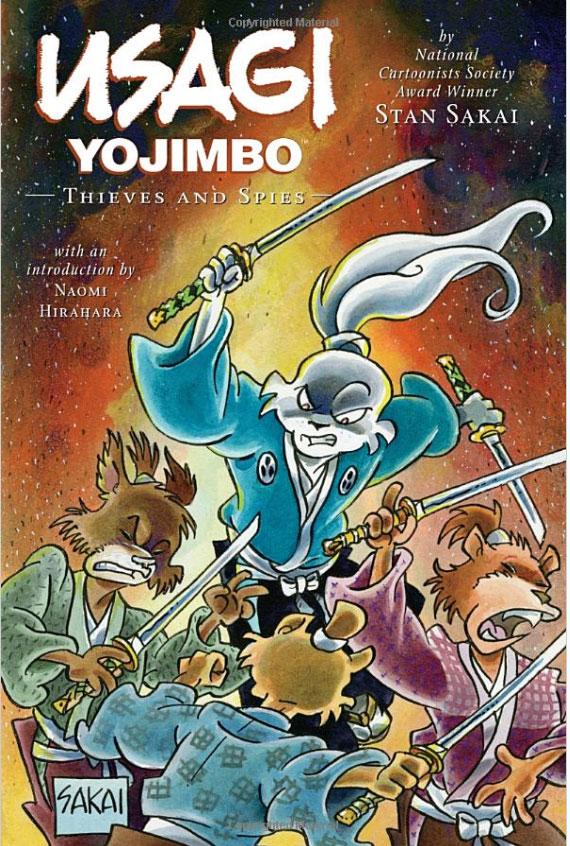 Обложка книги Usagi Yojimbo: Volume 30: Thieves and Spies