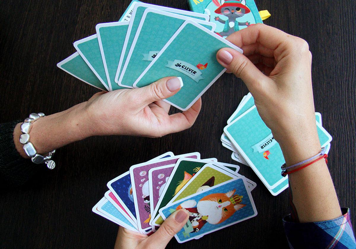 """Игра """"Кот в мешке"""" (набор из 39 карт)"""
