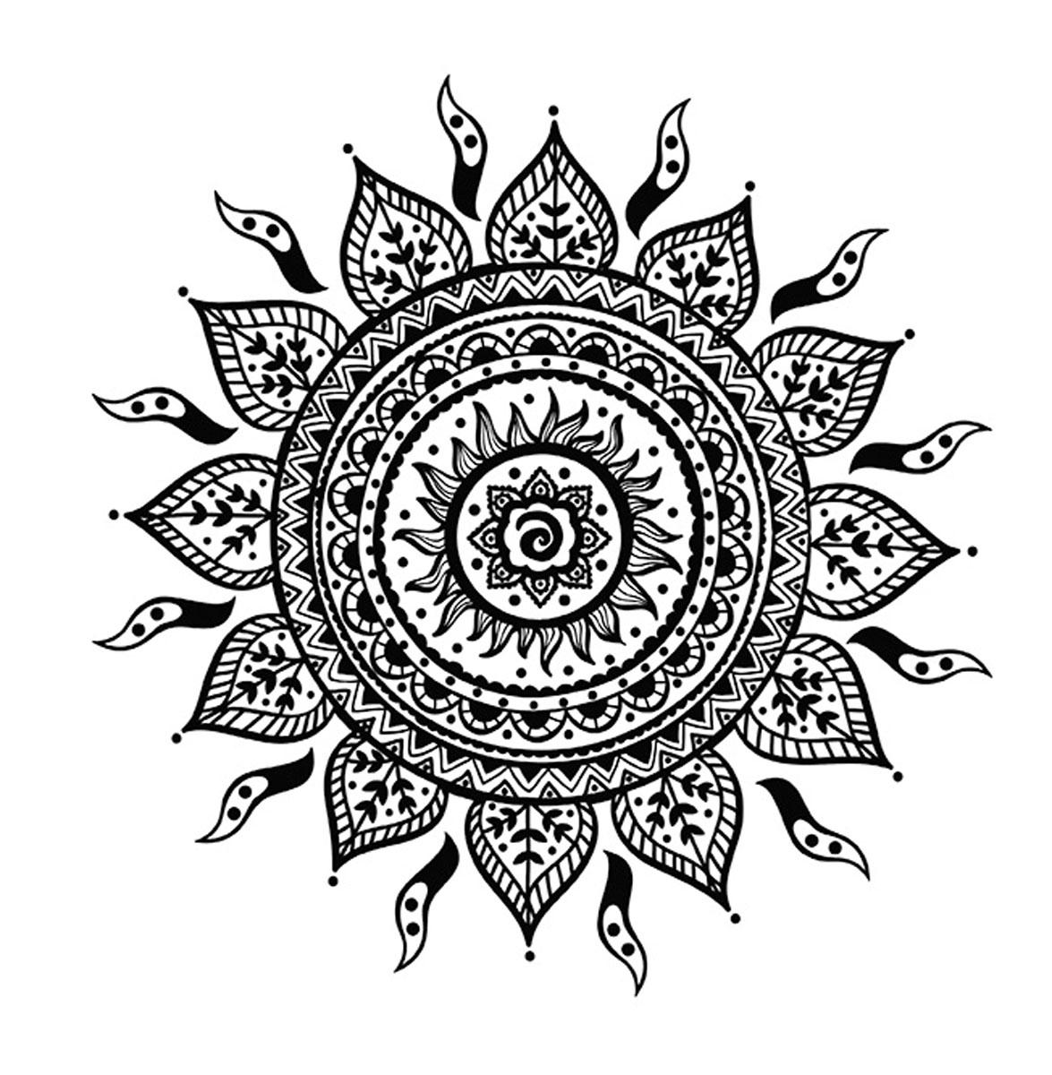 Магия цветов. Таинственные мандалы (комплект из 2 книг)