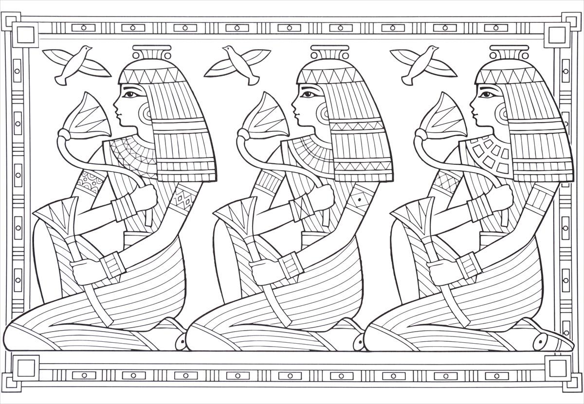 Египет. Основа для творчества