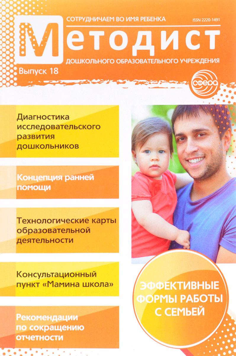 Методист дошкольного образовательного учреждения, №18, 2016