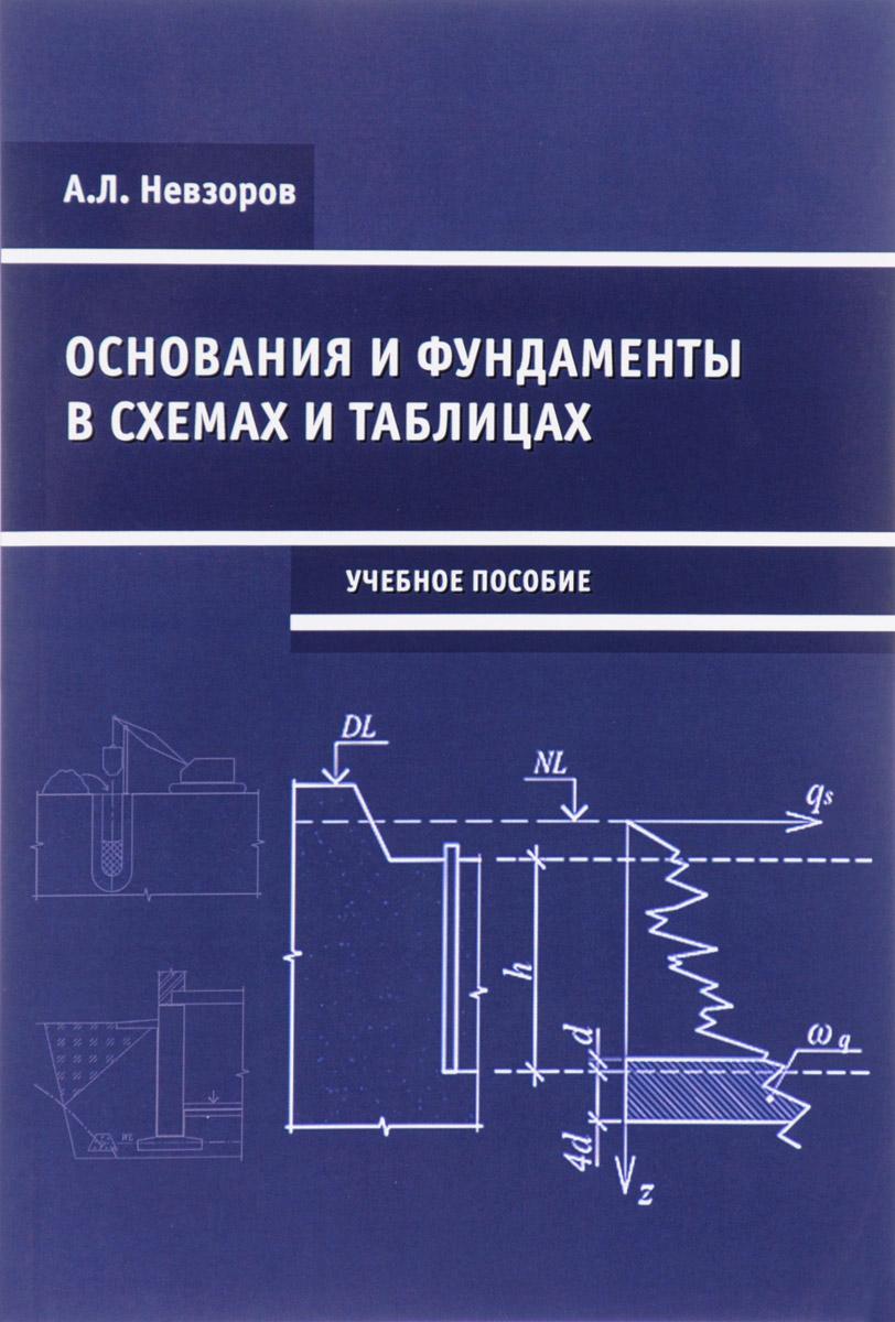 Основания и фундаменты в схемах и таблицах. Учебное пособие