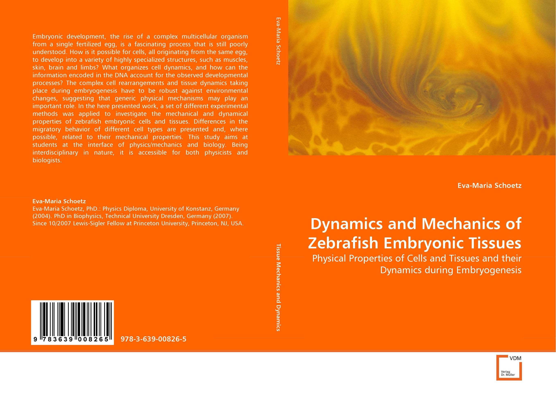 Dynamics and Mechanics of Zebrafish Embryonic Tissues
