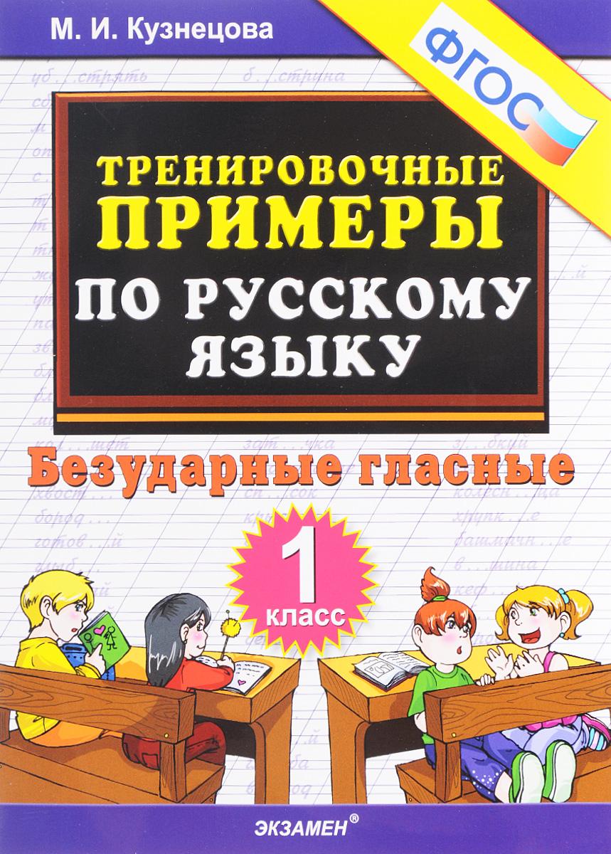 Русский язык. Безударные гласные. 1 класс. Тренировочные примеры