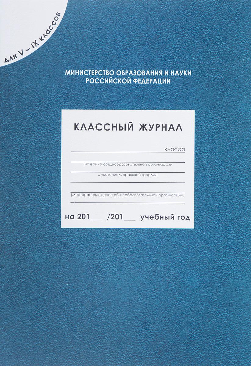 Классный журнал. 5-9 классы нижний новгород классный журнал