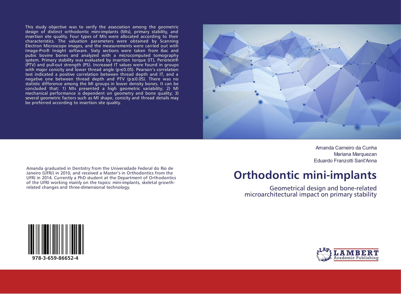 Orthodontic mini-implants