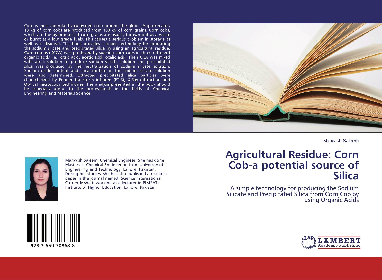 Agricultural Residue: Corn Cob-a potential source of Silica тушь для ресниц beyu volume now mascara