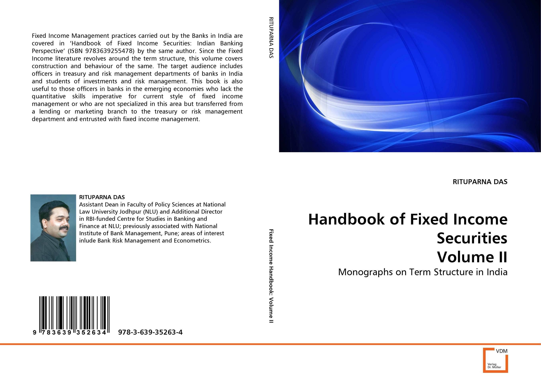 Handbook of Fixed Income Securities Volume II