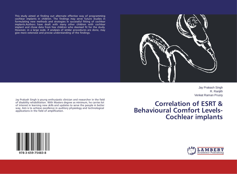 Correlation of ESRT & Behavioural Comfort Levels- Cochlear implants