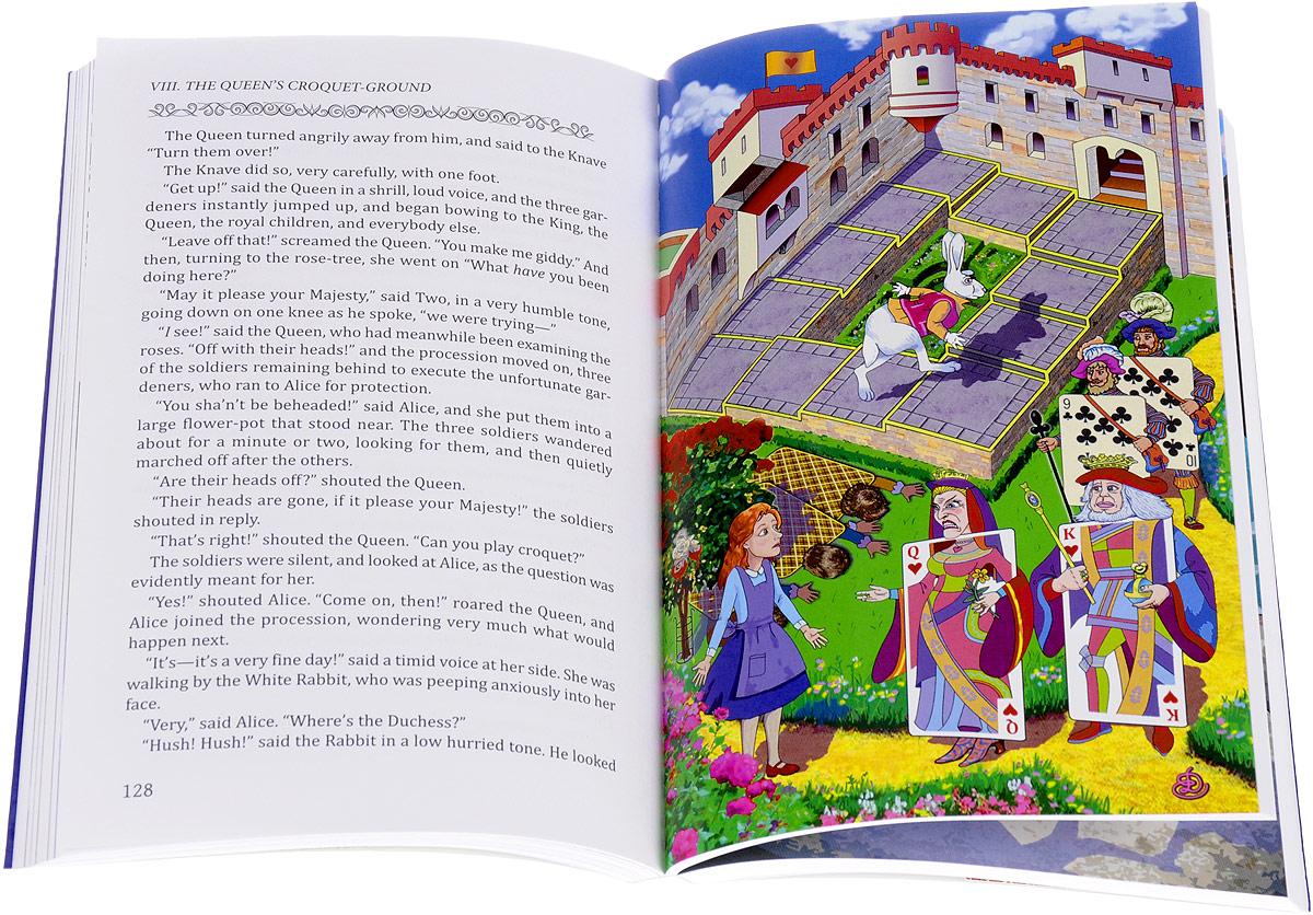 Приключения Алисы в Стране Чудес / Alice's Adventures in Wonderland. Льюис Кэрролл