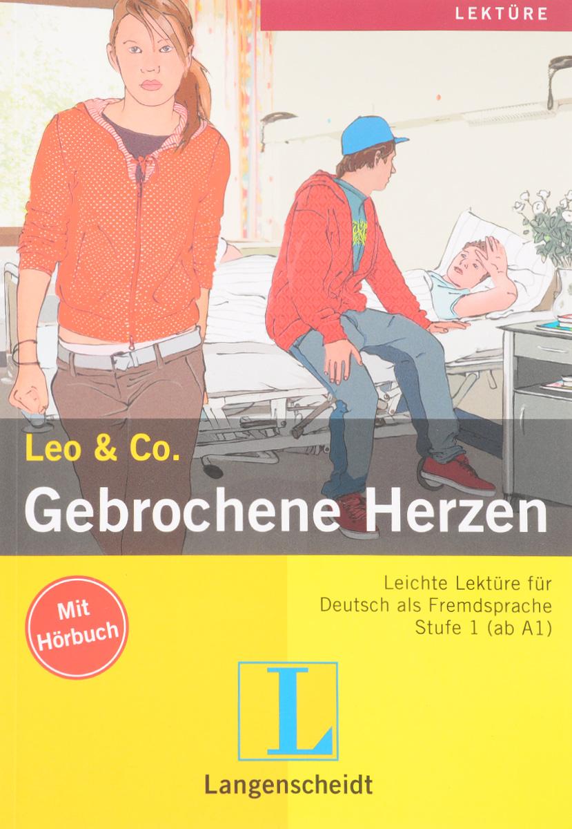 Leo & Co.: Gebrochene Herzen: Stufe 1: Leichte Lekture fur Deutsch als Fremdsprache (+ CD)