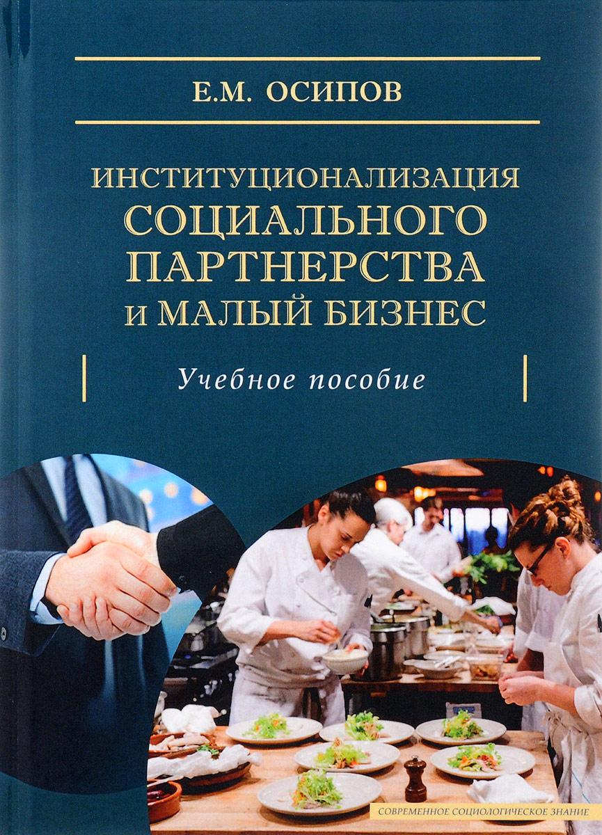 Институционализация социального партнерства и малый бизнес. Учебное пособие
