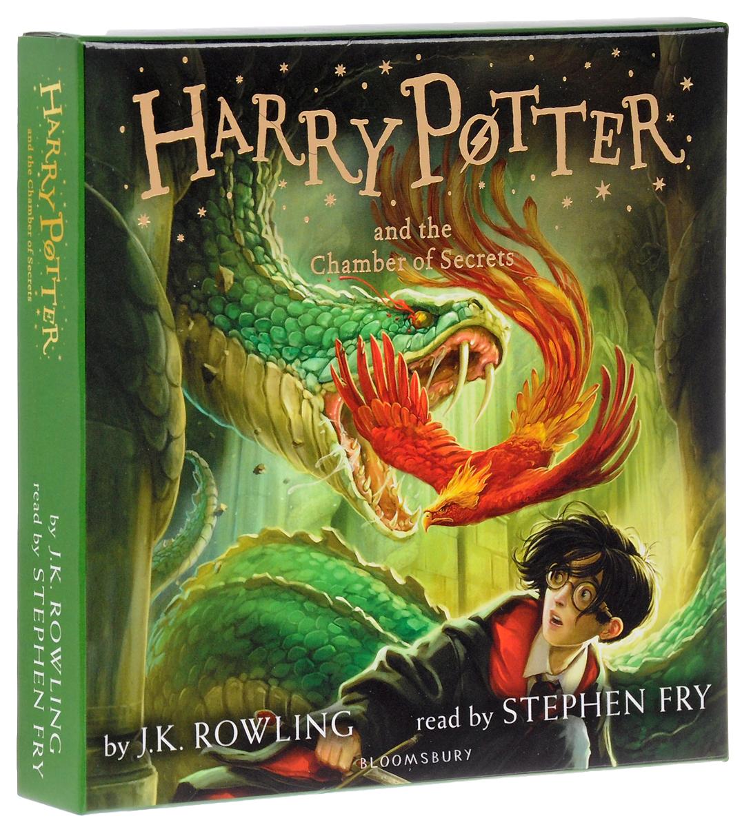 Harry Potter and the Chamber of Secrets (аудиокнига на 8 CD)