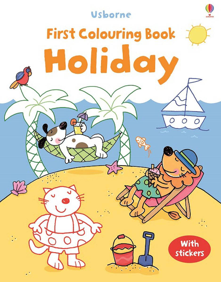 Jessica Greenwell First Colouring Book Holiday люстра потолочная idlamp simone 217 6pf blackchrome