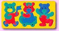 Мишки. Мягкая мозаика453742,45374Мозаики и конструкторы серии Флексика развивают у ребенка память, воображение, моторику, пространственное и логическое мышление. Обучение происходит прямо во время игры. Благодаря особой структуре материала и свойству прилипать к мокрой поверхности, являются идеальной игрушкой для ванны. УВАЖАЕМЫЕ КЛИЕНТЫ! Обращаем ваше внимание на возможные изменения в дизайне, связанные с ассортиментом продукции: цвет изделия или отдельных деталей может отличаться от представленного на изображении. Поставка осуществляется в зависимости от наличия на складе. Мозаики и конструкторы серии Флексика выполнены из мягкого, прочного, нетоксичного, абсолютно безопасного материала. Протестированы в лабораториях, имеют сертификаты качества.