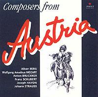Composers From Austria: A. Berg / W.A. Mozart / A. Bruckner / F. Schubert / J. Haydn / J. Strauss