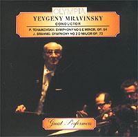 Yevgeny Mravinsky. P. Tchaikovsky. J. Brahms
