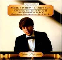 P. Tchaikovsky / S. Rachmaninov. Andrei Gavrilov / Ricardo Muti