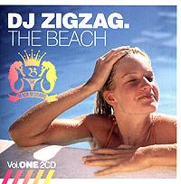 DJ Zigzag. The Beach. Vol. One 2005 2 Audio CD
