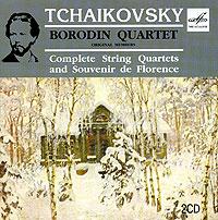 Zakazat.ru Borodin Quartet. Tchaikovsky. Complete String Quartets And Souvenir De Florence