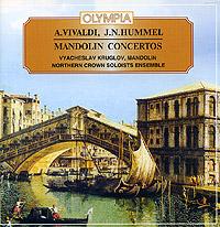 Antonio Vivaldi. Johann Hummel. Mandolin Concertos