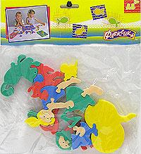 Репка. Мягкая мозаика45333Мозаики и конструкторы серии Флексика развивают у ребенка память, воображение, моторику, пространственное и логическое мышление. Обучение происходит прямо во время игры. Благодаря особой структуре материала и свойству прилипать к мокрой поверхности, являются идеальной игрушкой для ванны. Мозаики и конструкторы серии Флексика выполнены из мягкого, прочного, нетоксичного, абсолютно безопасного материала. Протестированы в лабораториях, имеют сертификаты качества.