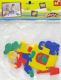 Емеля. Мягкая мозаика45334Мозаики и конструкторы серии Флексика развивают у ребенка память, воображение, моторику, пространственное и логическое мышление. Обучение происходит прямо во время игры. Благодаря особой структуре материала и свойству прилипать к мокрой поверхности, являются идеальной игрушкой для ванны. Мозаики и конструкторы серии Флексика выполнены из мягкого, прочного, нетоксичного, абсолютно безопасного материала. Протестированы в лабораториях, имеют сертификаты качества.