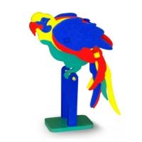 Флексика Мягкий конструктор Попугай45499Мозаики и конструкторы настолько универсальны и практичны, что с ними можно играть практически везде. Для производства игрушек используется современный, легкий, эластичный, прочный материал, который обеспечивает большую долговечность игрушек, и главное является абсолютно безопасным для детей. К тому же, благодаря особой структуре материала и свойству прилипать к мокрой поверхности, мягкие конструкторы и мозаики являются идеальной игрушкой для ванны. Способствует развитию у ребенка мелкой моторики, образного и логического мышления, наблюдательности.