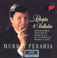 Chopin. 4 Ballades. Murray Perahia