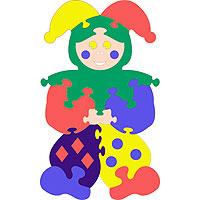 Шут, мягкая мозаика45356Мягкая мозаика Шут состоит из разноцветных фрагментов и малышу доставит немало удовольствия собрать ее. Все элементы мозаики выполнены из современного, легкого, эластичного материала, который обеспечивает большую долговечность и является абсолютно безопасным для детей. Благодаря особой структуре материала и свойству прилипать к мокрой поверхности, мозаика является идеальной игрушкой для ванны и сделает процесс купания приятной забавой для ребенка. Преимущество предлагаемой мозаики перед другими игрушками заключается в том, что она способствует развитию у ребенка мелкой моторики, образного и логического мышления, наблюдательности.