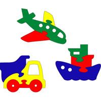 Транспорт. Мягкая мозаика45378Мягкая мозаика Транспорт состоит из 3 разноцветных игрушек - кораблик, машинка и самолет. Все элементы мозаики выполнены из современного, легкого, эластичного материала, который обеспечивает большую долговечность и является абсолютно безопасным для детей. Благодаря особой структуре материала и свойству прилипать к мокрой поверхности, мозаика является идеальной игрушкой для ванны и сделает процесс купания приятной забавой для ребенка. Преимущество предлагаемой мозаики перед другими игрушкамизаключается в том, что она способствует развитию у ребенка мелкой моторики, образного и логического мышления, наблюдательности.Состоит из 3 разноцветных игрушек - кораблик, машинка и самолет.