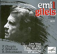 Live from the Great Hall of the Moscow Conservatory 27.12.1977. Издание содержит буклет с дополнительной информацией на английском и русском языках.