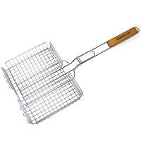 Решетка-гриль «Forester» объемная, 26 х 38 х 6 смBQ-N03Решетка-гриль Forester предназначена для приготовления пищи на углях. Изготовлена из высококачественной стали с пищевым никелированным покрытием. Идеально подходит для запекания продуктов различной толщины. Характеристики: Артикль: BQ-N03. Материал: сталь. Размер решетки: 26 см х 38 см. FORESTER - брэнд с широкими интернациональными традициями и в этом секрет его успеха. FORESTER впитал в себя самое лучшее из созданного предшественниками, поэтому продукция фирмы - это все самое качественное для вашего пикника! Разработано компанией Ruyan Co, Германия.